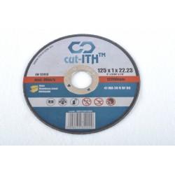 CUTITH125x1x22.23 csiszoló korong