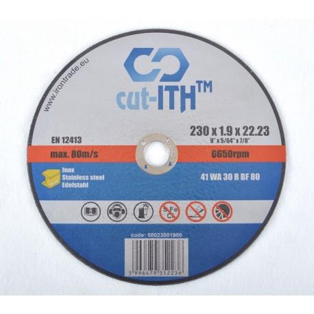 ITH 230x1,9x22,23 csiszolókorong