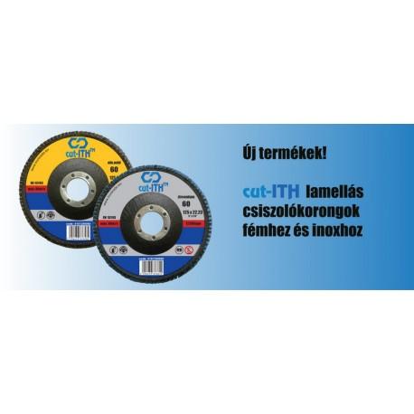 ITH Lamellás csiszolókorong Z40 INOX