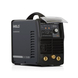 IWELD TIG220 DIGITAL PULSE RC Hegesztő inverter + IGrip SR26 potis
